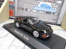 Porsche 911 964 Turbo 1990 Noir Black Prix Spécial maxichamps MINICHAMPS 1:43