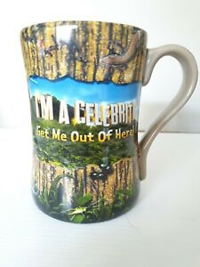 I'm A Celebrity Get Me Out Of Here! Large  Ceramic Thorpe Park Star Used