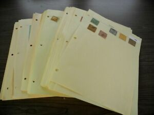 PANAMA, NICARAGUA, BOLIVIA,  Excellent Stamp Collection hinged on pages