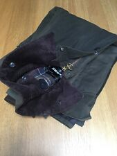 Barbour Classic Bedale Mens Size 48 XXL 56in Waterproof Sylkoil Jacket Excellent