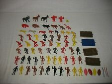 MPC Multiple Products Corp. 78 Plastic Jungle Set Natives, Animals & Accessories