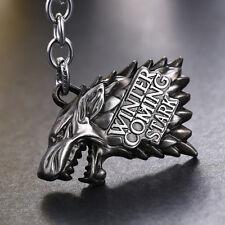 Game of Thrones Metal Bike Keychain GOT Merchandise Collectible Car Key Chain