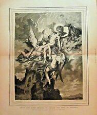Mythology, Death & Sleep, Bearing To Jupiter The Body Of Sarpedon 1874 Art Print
