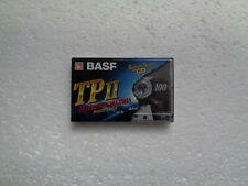 Vintage Audio Cassette BASF TP II 100 * Rare From Germany 1995 *
