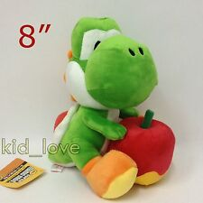 Super Mario Yoshi's Story Plush Yoshi Apple Soft Toy Stuffed Animal Teddy 8""