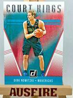 NBA Dirk Nowitzki Dallas Mavericks 20118-19 Panini Donruss Court Kings Card #12