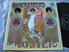 Diana Ross & The Supremes ORIG U.K. Tamla Motown Factory Sample STEREO L.P. EX