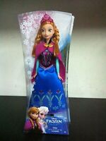 Mattel Principesse Disney Frozen ANNA di Arendelle Bambola 28 cm MIB, 2013