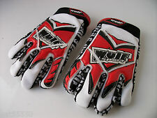 NEW RED WULFSPORT KIDS Sz XXXS AGE 3-4 OFF ROAD GLOVES CHILDRENS MOTOCROSS QUAD