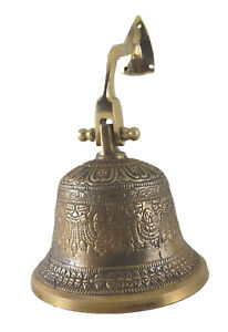 Nautical Ship Bell Antique Finish Handcrafted Bronze Wall Mounted Door Bell SB21