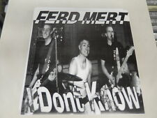 """FERD MERT I Don't Know / Poop 7 song EP 7"""" vinyl Seattle 206 Picture Sleeve NEW!"""
