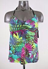 NEW Mossimo Women's Swimwear Neck Tie Tankini Top Size M