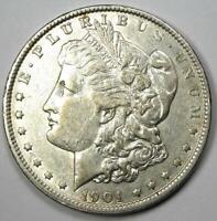 1901 Morgan Silver Dollar $1 (1901-P) - Choice XF / AU Details - Rare Date!