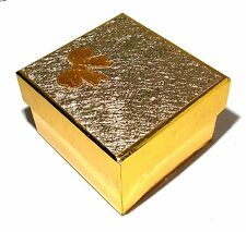 New Golden Bow Watch Jewelry Bangle Bracelet Paper Display Present Gift Box Case