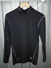 Mens Nike Pro Combat compression gym sports black long sleeve top. Size L.