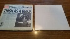 TWO VTG VINYL LPS JETHRO TULL M.U.- THE BEST OF JETHRO TULL & THICK AS A BRICK