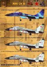 Hungarian Aero Decals 1/72 Soviet MIKOYAN MiG-29B Fighter