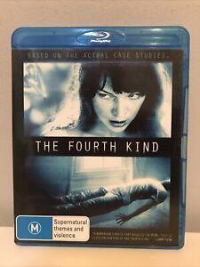 THE FOURTH KIND - BLU-RAY REGION B (2010)  Milla Jovovich -LIKE NEW - FREE POST