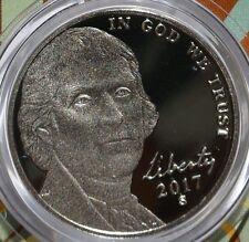 2017-S Proof Cameo Jefferson Nickel
