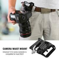 Camera Quick Belt Buckle Holster Waist Mount Hanger Clip for Canon Nikon Sony