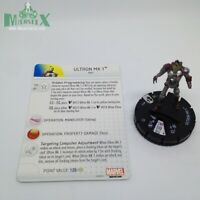Heroclix Age of Ultron Movie set Ultron Mk 1 #012 Gravity Feed figure w/card!