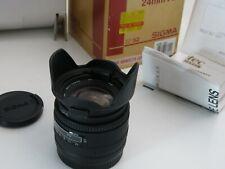 SIGMA 24mm 2.8 AF MINOLTA SUPER WIDE II MACRO NEW IN BOX