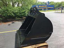 "New 72"" Komatsu Pc360 Ditch Cleaning Bucket w / Coupler Pins"