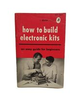Vintage Allied Publications How To Build Electronic Kits c1965