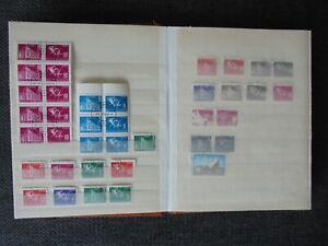 93 Briefmarken Post mit Zusammendrucken € 10 Katalog für 1 €