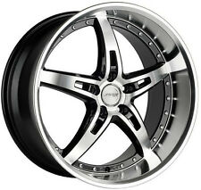"19"" MRR GT5 WHEELS SET FOR NISSAN 370Z 350Z G35 ALTIMA MAXIMA MURANO STAGGERED"