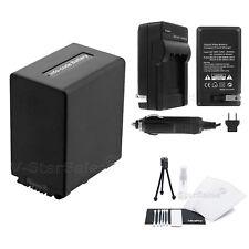NP-FV100 Battery + Charger + BONUS for Sony HDR-XR150 XR160 VR260V XR350 XR550V