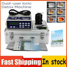 Professional Ionic Detox Foot Bath Spa Chi Cleanse Machine Far infrared Ion Home