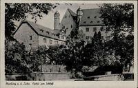 Marburg Lahn Hessen AK 1944 Marburger Schloss Burg Landgrafenschloss Gebäude