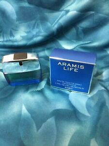 Vintage Aramis Life 50ml Edt For Men Rare