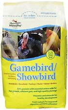 Manna Pro 0046203236 Game/Show Bird Feed, 5-Pound , New, Free Shipping