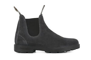 Blundstone 1910 Boots Unisex Chelsea Steel Grey Leather Suede Ankle Aussie