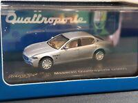 HO 1/87 SCALE RICKO 38406 2003 Maserati Quattroporte Silver NEW IN PACKAGE