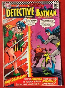 DETECTIVE COMICS Mar #361 - 1967 DC Silver Age. BATMAN AND ROBIN