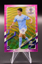 2020-21 Topps Chrome Eric Garcia Pink X-Refreactor #96 Manchester City Rookie RC