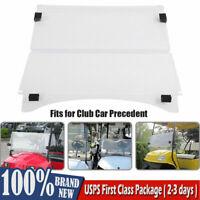 Acrylic Windshield For Yamaha G22 / Club Car Precedent Golf Cart Clear Tea Color