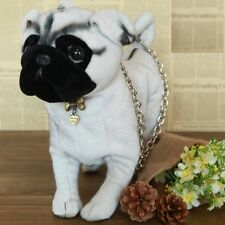 Simulation beige Pug shape shoulder bag Novelty animal dog Bag xmas gift new