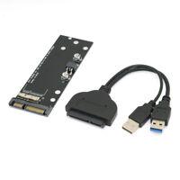 """USB 3.0 to Macbook Air 17+7pin SSD & USB 3.0 to SATA 22pin 2.5"""" Hard Disk Drive"""