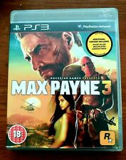 Max Payne 3 PS3 Playstation 3 Game VGC. FREEPOST 1st Class in UK