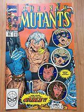 The New Mutants Marvel Comics #87