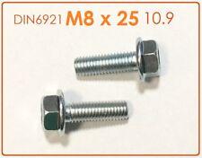 10 Stück Schraube hochfest DIN 912 M8x60 10.9 verzinkt getempert
