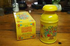 Vintage Avon Decanter Bottle with original Box – 1973 – Creamery Decanter