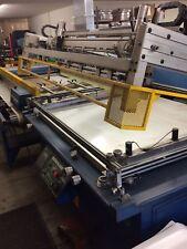 UV screen print dryer automatic screen printing press