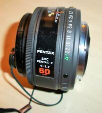 Pentax SMC Pentax F 1:1.7 50mm Camera Lens