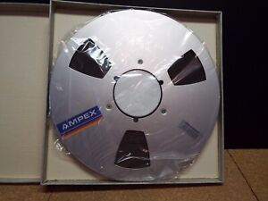 """AMPEX Grand Master 456 , 1/4""""x2500' Tape With Box, Sealed And New"""