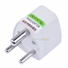 Universal UK/US/EU/AU/RU Socket to India IN Plug Jack Travel Trip Power Adapter